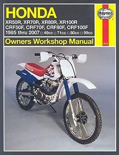 Honda XR50R-XR100R, CRF50F-CRF100F, 1985 Thru 2007 (Owners' Workshop Manual)