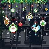 Etiqueta de la pared de Navidad Pingüino animal de dibujos animados Decoración navideña...