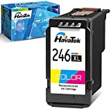 HavaTek Remanufactured Ink Cartridge Replacement for Canon 246XL CL-246XL CL-244 (1 Color) to Use with Pixma TS3122 MX490 MX492 TR4522 TR4520 MG2522 MG2922 MG2520 TS3322 Printer