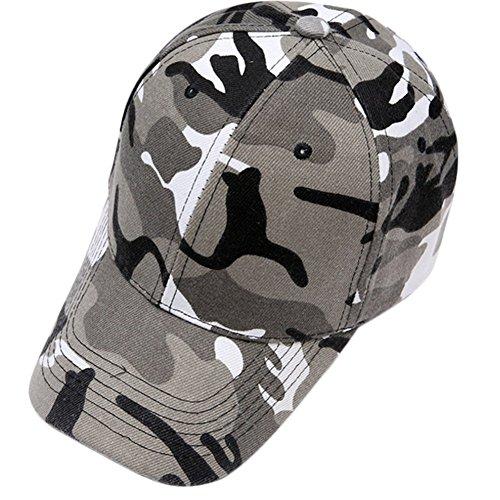jingyuu Sport Baseball Cap Camouflage Cap Atmungsaktive Laufmütze für draußen Camo Baseball Caps Unisex