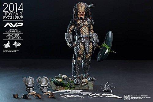 Alien Vs. Predator Hot Toys Exclusive Movie Masterpiece 1/6 Scale Collectible Figure Ancient Predator