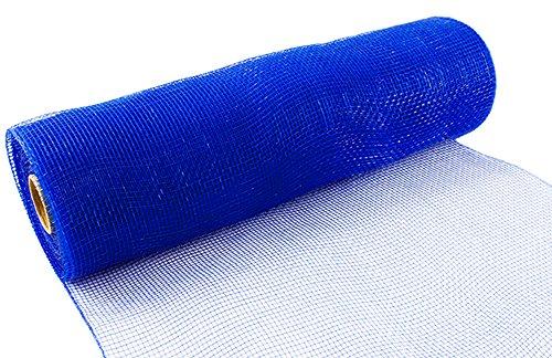 Eleganza Royal Nr. 18Deco Mesh, blau, 25cm x 9,1m