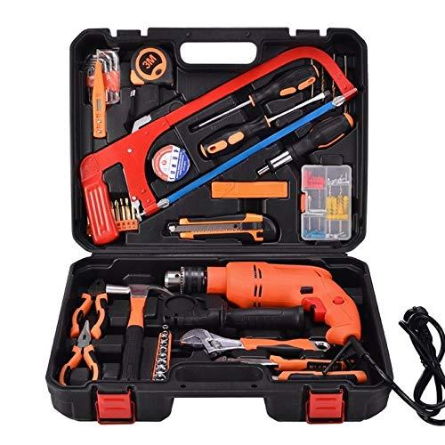 STT-052J Multifunction Household 52-Piece Household Level Power Drill Toolbox Set HAOCHENGYU