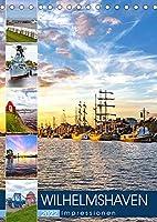 Wilhelmshaven Impressionen (Tischkalender 2022 DIN A5 hoch): Stimmungsvolle Bilder aus Wilhelmshaven (Monatskalender, 14 Seiten )