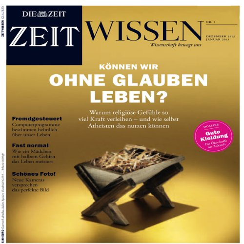 ZeitWissen, Dezember 2012 / Januar 2013 Titelbild