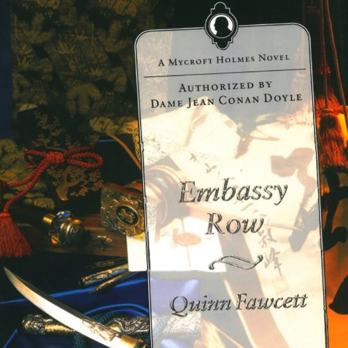 Embassy Row audiobook cover art