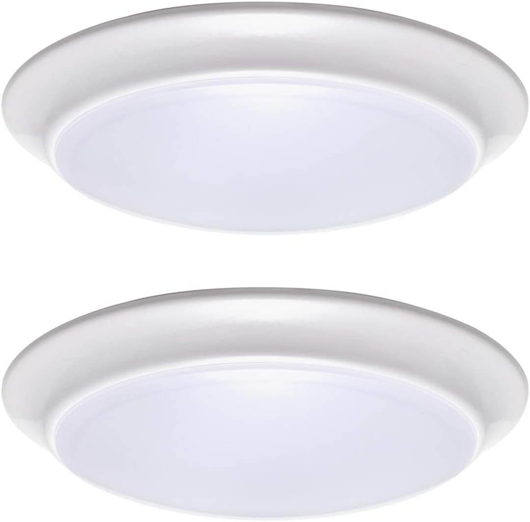 LIT-PaTH LED Flush specialty shop Mount Ceiling Dimmable 7 Fixture In Lighting Factory outlet