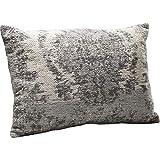 Kare Design Kissen Kelim Pop Grau, 60x40cm, schönes Dekokissen für das Sofa in der Farbe Grau, in...