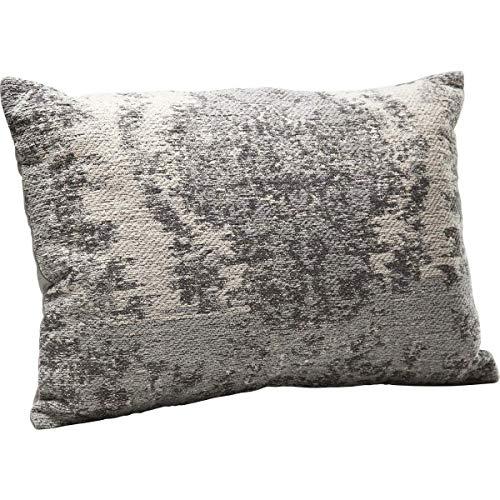 Kare Design Kissen Kelim Pop Grau, 60x40cm, schönes Dekokissen für das Sofa in der Farbe Grau, in verschiedenen Farben erhältlich