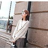 Chengzuoqing-Bag Borsetta da Donna Ottagonale cap Autunno Inverno Femminile Retro Cotton Beret Hipster Cappello Pittore Selvaggio Borsa a Tracolla in Pelle (Color : Beige, Size : 58-60cm)
