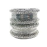 Millions Of Miles - Brazalete de metal chapado en plata para mujeres y niñas.