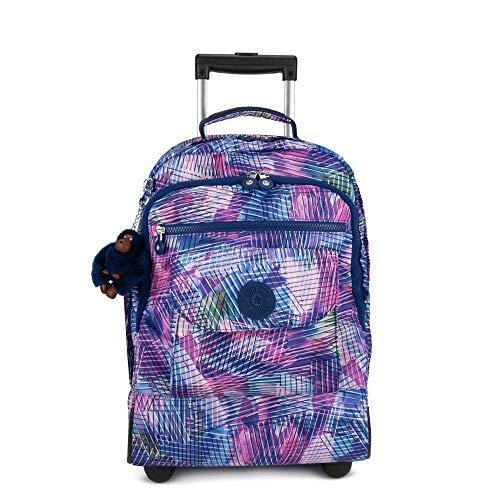 Kipling Sanaa Large Printed Rolling Backpack Radiant Splash