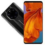 Mate40 RS 3G Smartphone desbloqueado, teléfono móvil HD de pantalla completa de 5,8 pulgadas para Android 6.1, 512 MB + 4 GB, teléfono inteligente de doble tarjeta con doble modo de espera(negro)