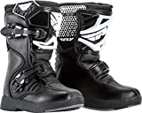 FLY Racing Maverik Boots for Motocross, Off-road, and ATV riding (SZ Y10,BLACK)