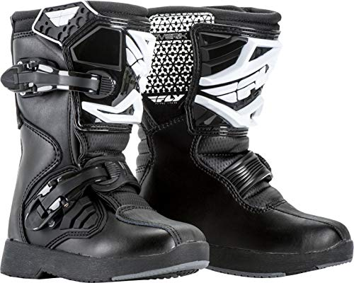 FLY Racing Maverik Boots for Motocross, Off-road, and ATV riding (SZ Y13,BLACK)