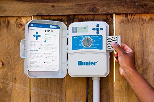 HUNTER X2 601-6 Jahreszeiten - Außen/Innen -Programmierer kompatibel WiFi Modul Wand (nicht im Lieferumfang enthalten)