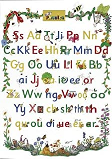 Jolly Phonics Letter Sound Poster (in Print Letters)[JOLLY PHONICS LETTER SOUND POS][Hardcover]