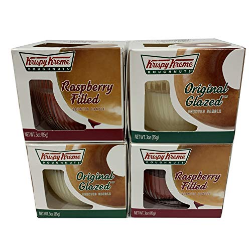 Krispy Kreme Scented Candle - Raspberry Filled