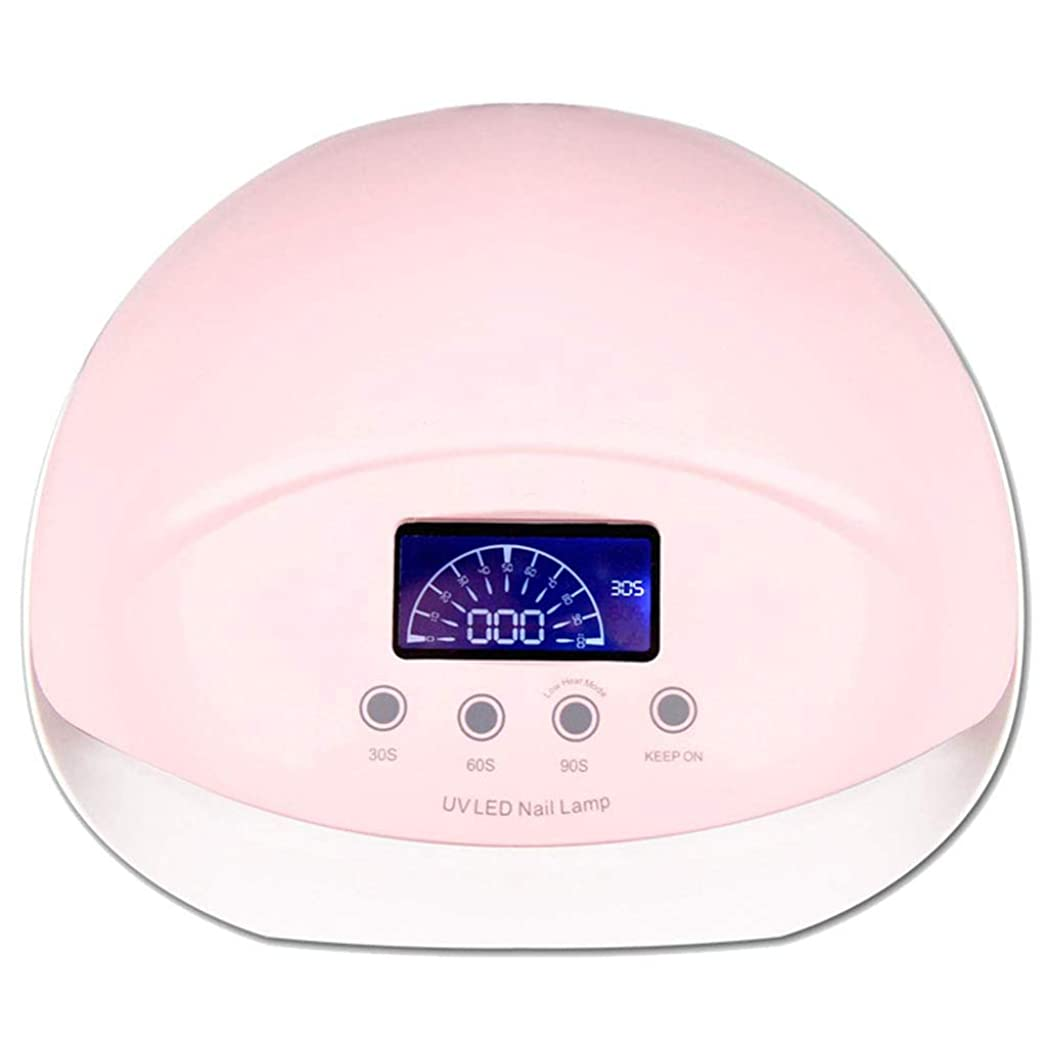 理容師むちゃくちゃ蜂クイック乾燥ネイルランプ誘導 LED ネイルライト、50ワットネイルランプ自動センサープロフェッショナルペディキュアマニキュアドライヤーライトマシン、