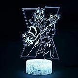 Tianyifengg Saison de Bande dessinée modèle de Peau Illusion Lampe décoration Nuit...