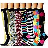Sabarry Calcetines de compresión - Ideal para correr, médicos, deportes, viajes aéreos, embarazo...