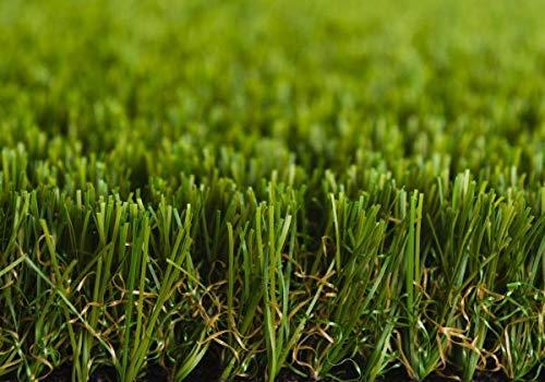 Kunstrasen Rasenteppich Greenlife für Garten - Florhöhe 30 mm - Gewicht ca. 2369 g/m² - UV-Garantie 12 Jahre (DIN 53387) - 2,00 m x 4,00 m | Rollrasen | Kunststoffrasen