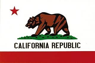 Flag It California Heavy Duty Vinyl Bumper Sticker (3 x 5 Inches)