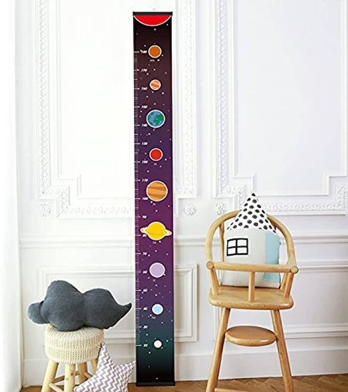 Chaeum Children S Height Growth Chart Measure Ruler Wall Hanging Decor For Kids Galaxy Styles