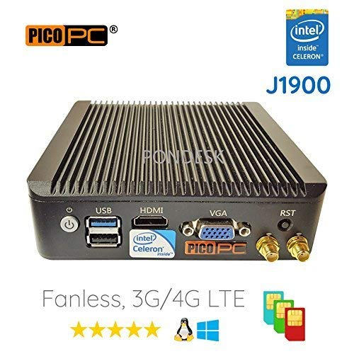 pfSense, Sophos, Untangle, Ubuntu, ClearOS, Freebsd, Monowall, Debian etc Intel AES-NI Atom® E3845 4 LAN with WiFi HD Fanless Firewall Appliance Router 8GB RAM, 120GB mSATA SSD