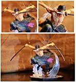 ZYBZGZ Anime Action Figureanime One Piece Ronoa Zoro Ghostthree-Knife Ghost Cut Ver. PVC Action Coll...