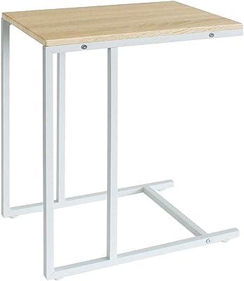 ヤマソロ サイドテーブル ミニテーブル 補助テーブル リリー Lily ナチュラル/ホワイト 43-113