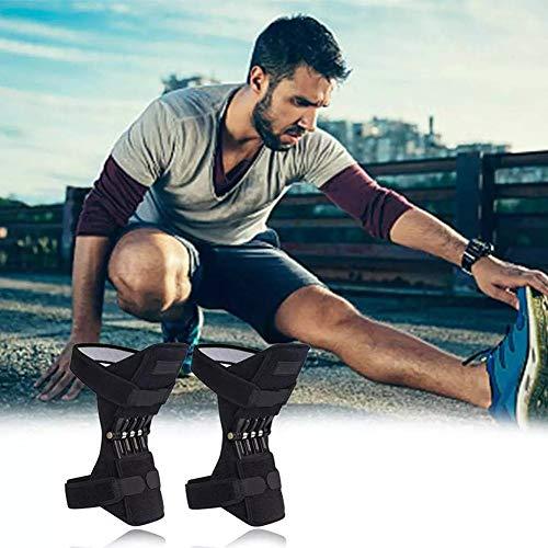 QXTDYX Articulaciones Rodilleras Paréntesis de Rodilla, Zapato con Cierre, elevación mecánica Fuerza del Muelle, tendón de ratón en tendón de Gimnasia