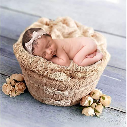 Baby Fotografie Mand, Schuim Katoen Verjaardag Props Gift Ronde Styling Douche Gift Accessoires Baby Kleine Pasgeboren Frame Studio Exquisite