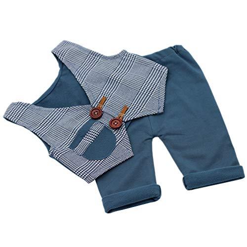 Asudaro Neugeborene Fotografie Kleidung Set Baby Photo Prop Outfits Kleidung Baby Gentleman Weste + Shorts Anzug Overalls Kinder Kostüm