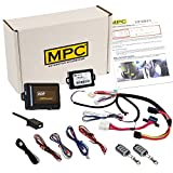 MPC Plug-n-Play Remote Start Keyless Entry Kit for Sierra & Silverado 2003-2007 Classic - Prewired T-Harness - Firmware Preloaded - Simple Installation