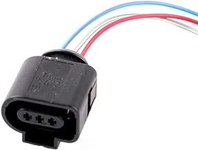 Connector Plug Pigtail Harness 3 Pin Fit for Audi VW 1J0973703 Camshaft Cam Sensor/Alarm Horn Plug
