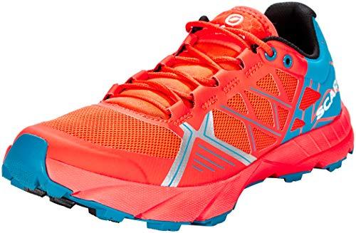 Scarpa Damen Spin Schuhe, Bright red-sea, EU 40