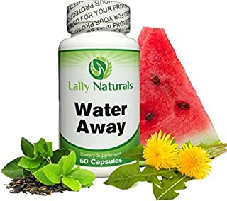 Natural Diuretic Water Pill - for Men and Women Dandelion, Potassium & Green Tea to Lose Water Weight Bloating Relief Water Retention Pills Premium Herbal Supplement Gentle, Natural & Safe