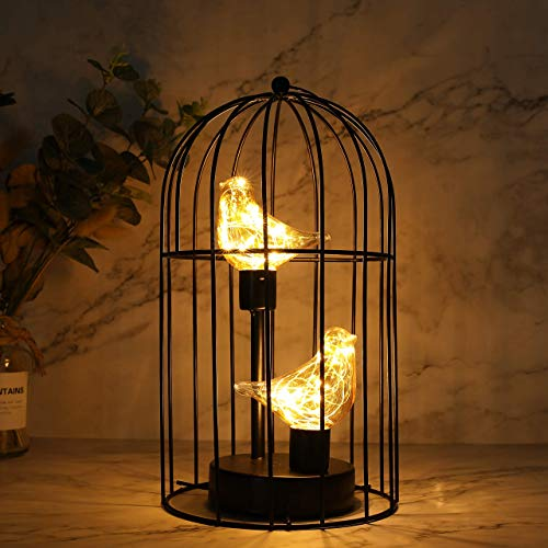 JHY DESIGN Birdcage Decorative Lamp…