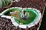 Laghetto decorativo da giardino Atossico, ottimo per ospitare pesci e piante Capacità lt. 220