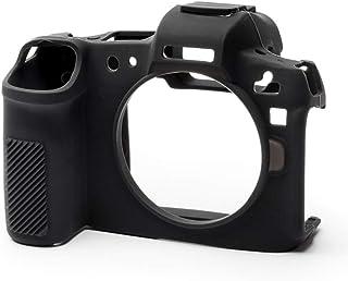 easyCover シリコン保護カバー Canon R Black EA-ECCRB用