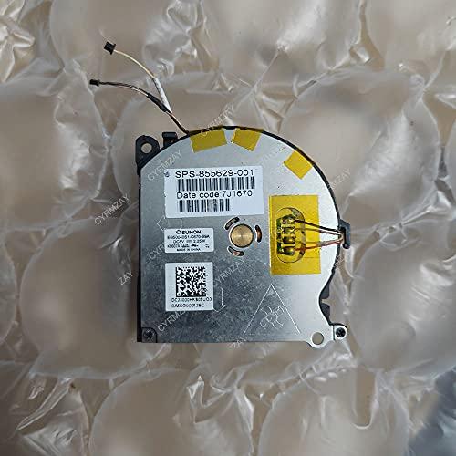 CYRMZAY Ordenador portátil/Notebook Ventilador para HP Spectre 13 Spectre 13-V011DX EG50040S1-C670-S9A DC5V 2.25W