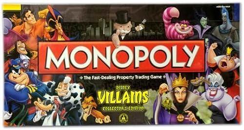 en venta en línea Walt Disney Parks Villians. Collectors Edition Monopoly Official Merchandise Merchandise Merchandise of Walt Disney World by Disney  nuevo estilo