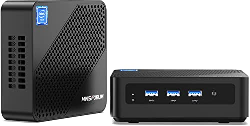 Mini PC upgradeable 8GB RAM 256GB SSD Processeur Intel Core i5-5257U(jusqu'à 3.1Ghz),Ordinateur de Bureau Windows 10 ...