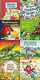 Pixi-8er-Set 279: Dinos und Drachen bei Pixi (8x1 Exemplar)
