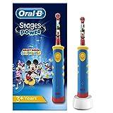 Oral-B Stages Brosse à Dents Électrique Pour Enfants Avec Personnage Mickey (Beauté et hygiène)