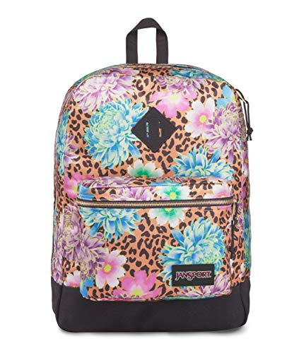 JanSport Super FX Backpack, Cheetah Begonia