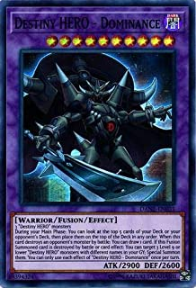 Yu-Gi-Oh! - Destiny Hero - Dominance - DANE-EN031 - Super Rare - Unlimited Edition - Dark Neostorm
