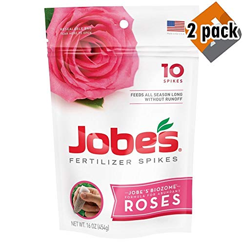Jobe's 4102 Rose Food Spikes