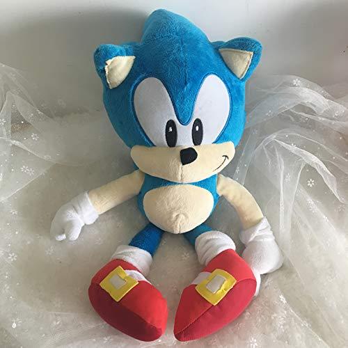 Anime Pop Knuffels, Sonic The Hedgehog Blue Sonic Knuffels, Leuke Gevulde Kinderen Geschenken Baby Jongens Knuffels Voor Kinderen 40 Cm